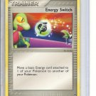 (B-2) 2007 Pokemon card #75/108: Trainer - Energy Switch