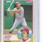 (B-2) 1983 Topps #60: Johnny Bench