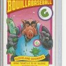 (B-2) 1987 ALF Bouilla Baseball card #18b: Cleveland Goomers - Erno Sludge