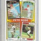 (B-2) 1986 Topps #4: Pete Rose