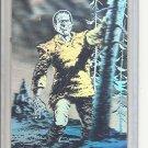 (B-2) 1993 Bernie Wrightson Frankenstein Hologram Promo card, magazine cut