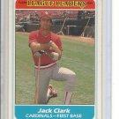 (B-2) 1986 Fleer League Leaders #6 of 44: Jack Clark