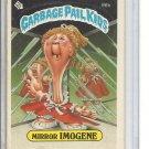 (B-2) 1986 Garbage Pail Kids #96b: Mirror Imogene