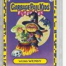 (B-2) 2011 Garbage Pail Kids Flashback #3a: Weird Wendy - Yellow Border