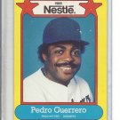 (B-3) 1988 Nestle Baseball #24 of 44: Pedro Guerrero