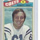 (B-3) 1977 Topps Football #456: Robert Pratt- Rookie