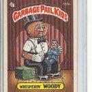 (B-3) 1986 Garbage Pail Kids sticker card #152a: Whisperin' Woody