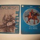 2003 Age of Mythology Board Game Piece: Norse Battle Card: Jarl