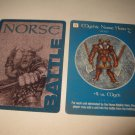2003 Age of Mythology Board Game Piece: Norse Battle Card: Mythic Hero