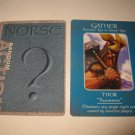 2003 Age of Mythology Board Game Piece: Norse Random Card: Gather - Thor