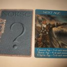 2003 Age of Mythology Board Game Piece: Norse Random Card: Next Age