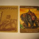 2003 Age of Mythology Board Game Piece: Egyptian Permanent Card - Explore