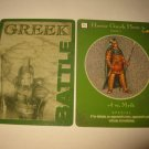 2003 Age of Mythology Board Game Piece: Greek Battle Card - Heroic Hero