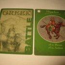 2003 Age of Mythology Board Game Piece: Greek Battle Card - Hippokon