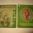 2003 Age of Mythology Board Game Piece: Greek Battle Card - Mythical Hero