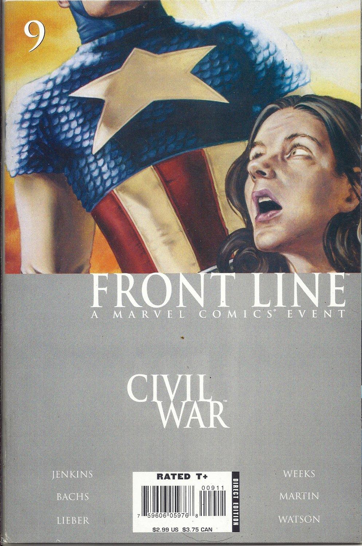 (CB-51) 2006 Marvel Comic Book: Civil War Frontline #9
