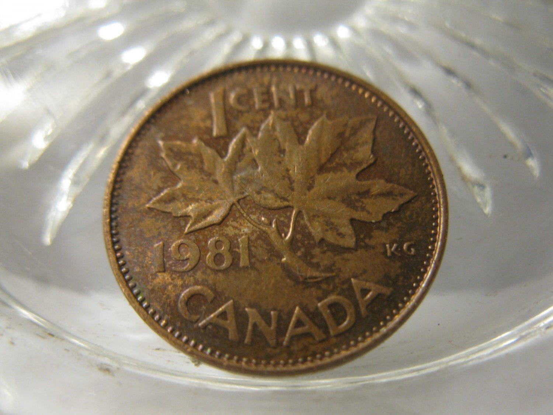 (FC-549) 1981 Canada: 1 Cent