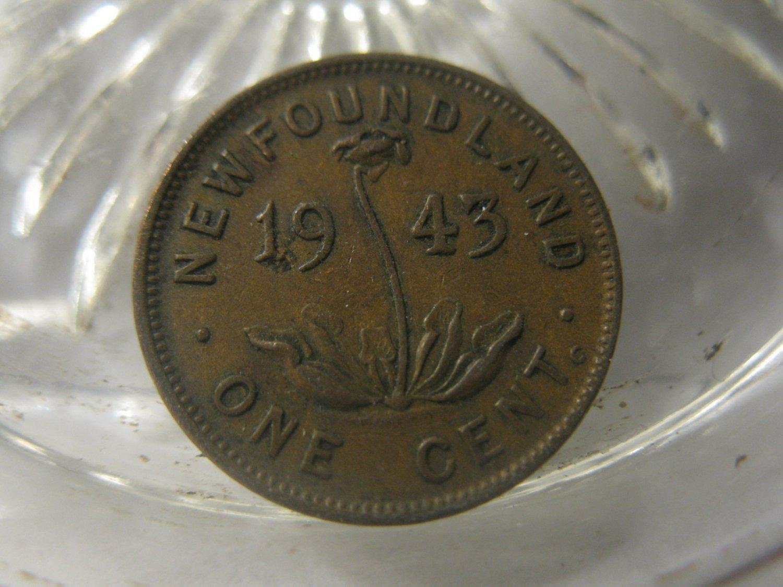 (FC-764) 1943-C New Foundland: 1 Cent