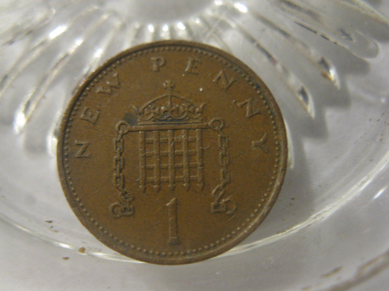 (FC-1078) 1971 United Kingdom: 1 New Penny