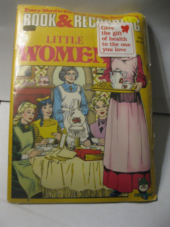 vintage Book & Record set: Little Women