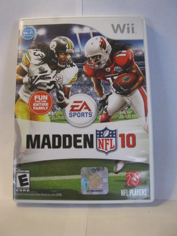 Nintendo Wii Video Game: Madden 10