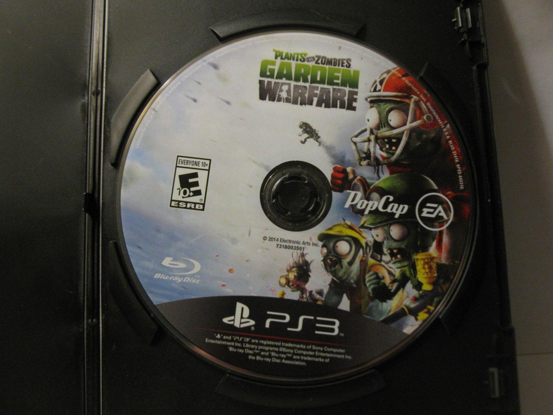 Playstation 3 / PS3 video game: Plants vs Zombies - Garden Warfare