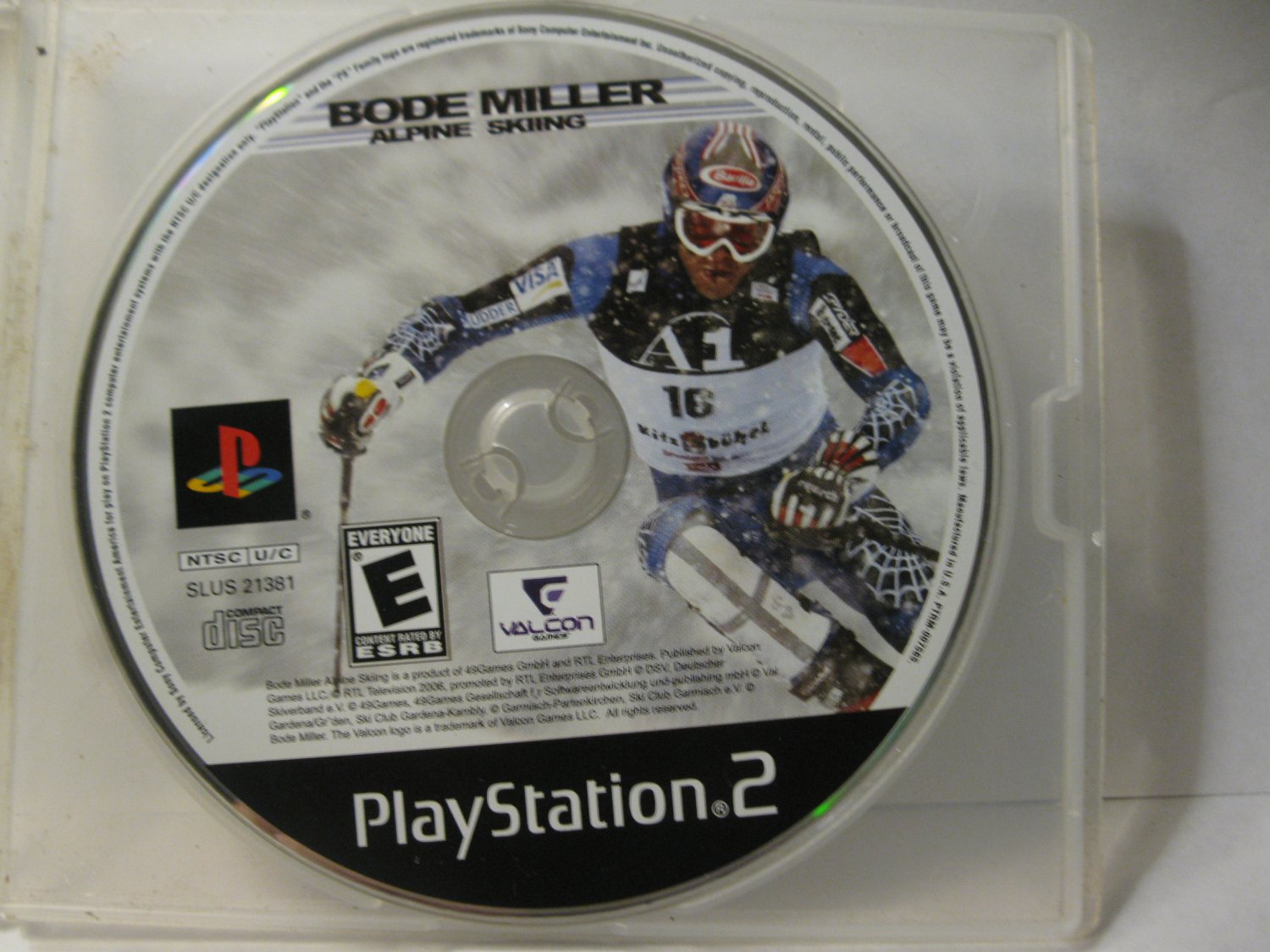 Playstation 2 / PS2 Video Game: Bode Miller - Alpine Skiing