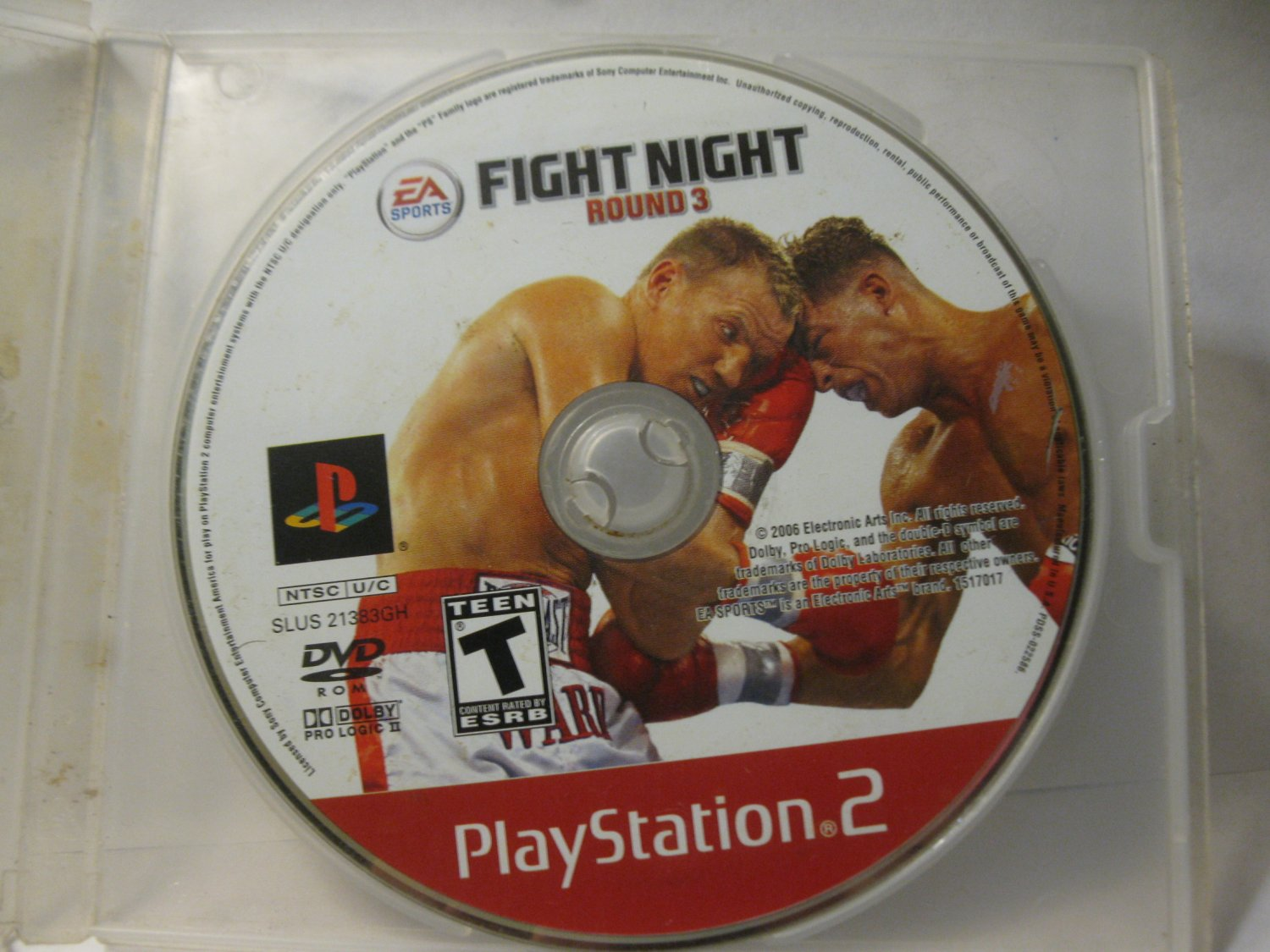 Playstation 2 / PS2 Video Game: Fight Night Round 3