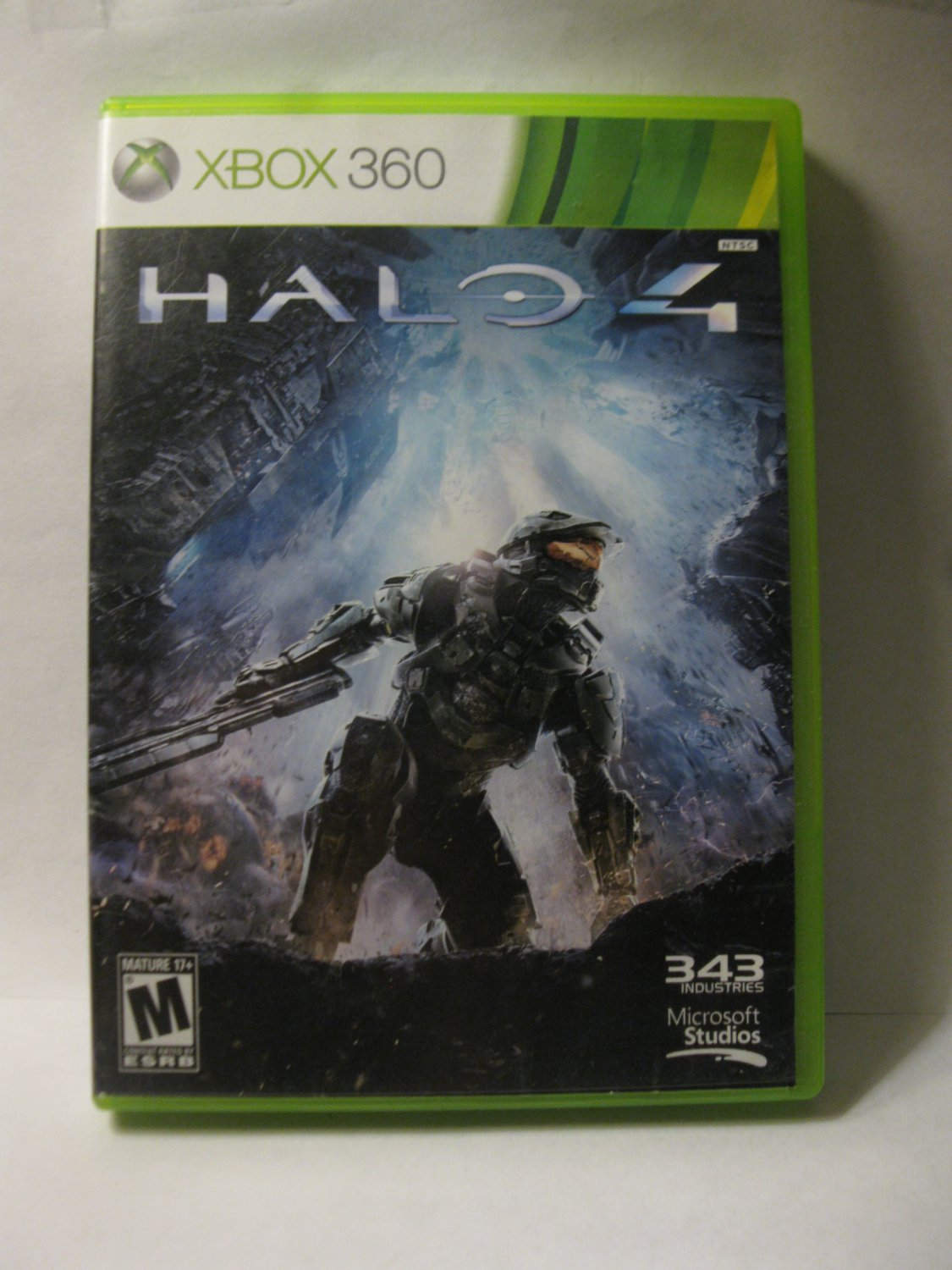 Xbox 360 Video Game: Halo 4 - Case & Disc One only