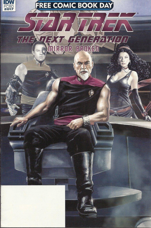 (CB-4) 2017 IDW Comic Book: Star Trek - Mirror Broken - FCBD ed..