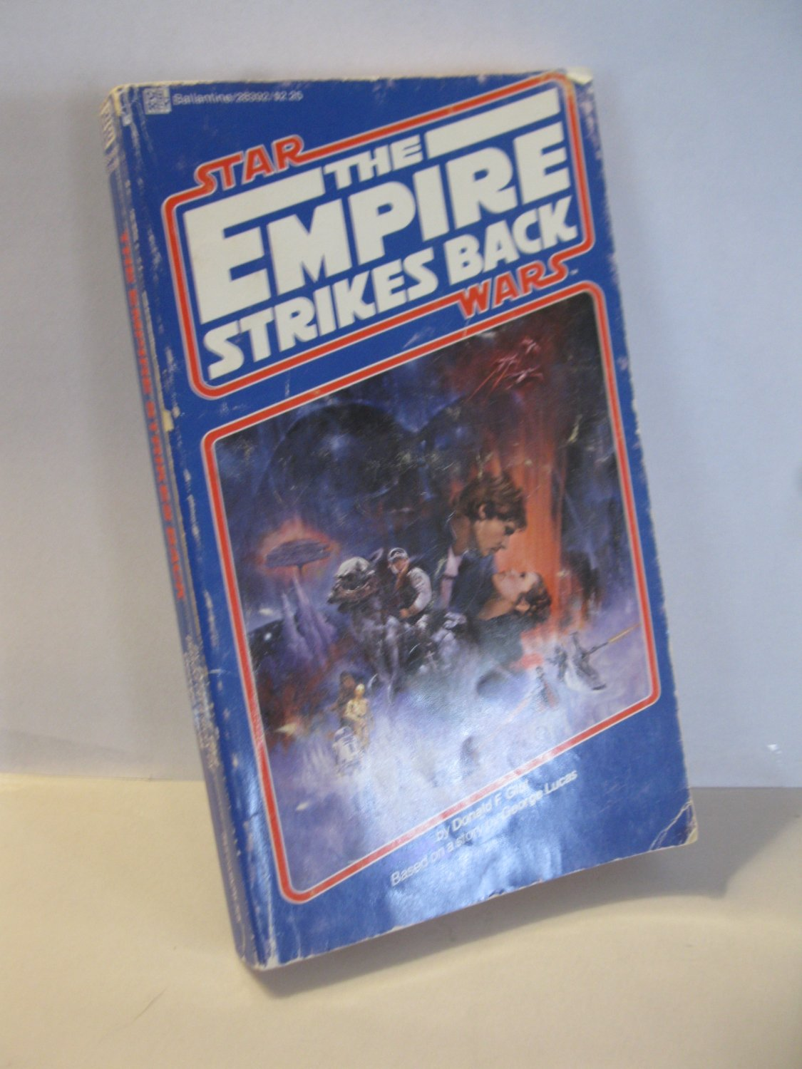 (BX-6) 1980 Star Wars - The Empire Strikes Back p/b book - stated 1st Ed.