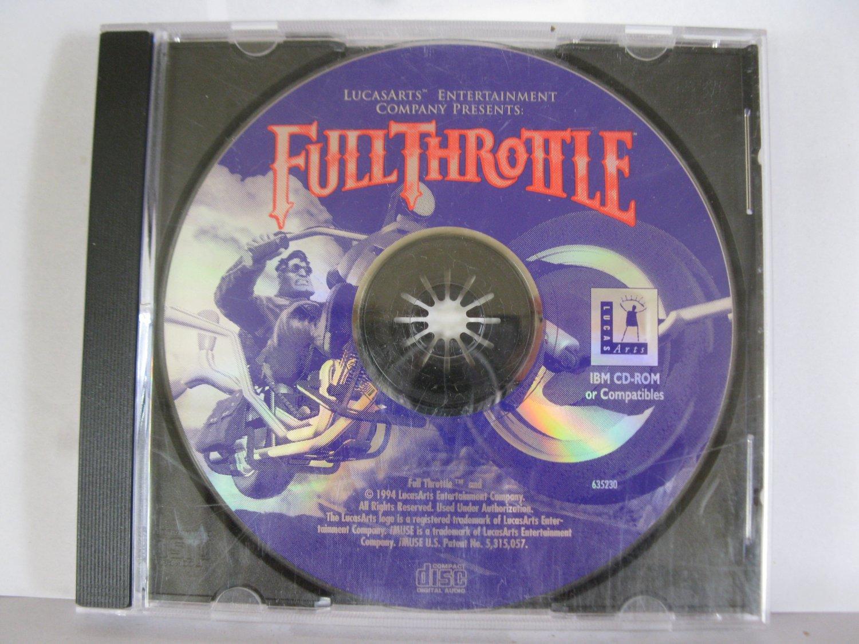 1994 PC Video Game: Full Throttle - LucasArts