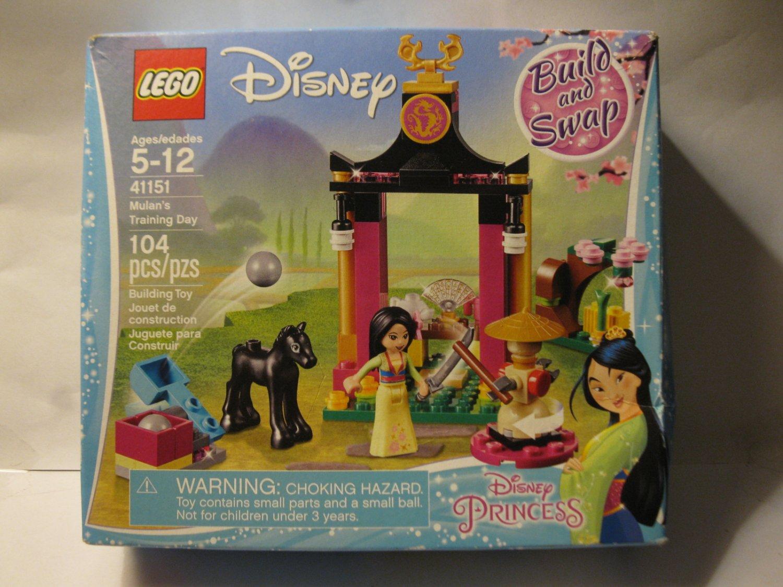 Lego Set #41151: Disney Mulan' Training day - Brand New , Factory Sealed