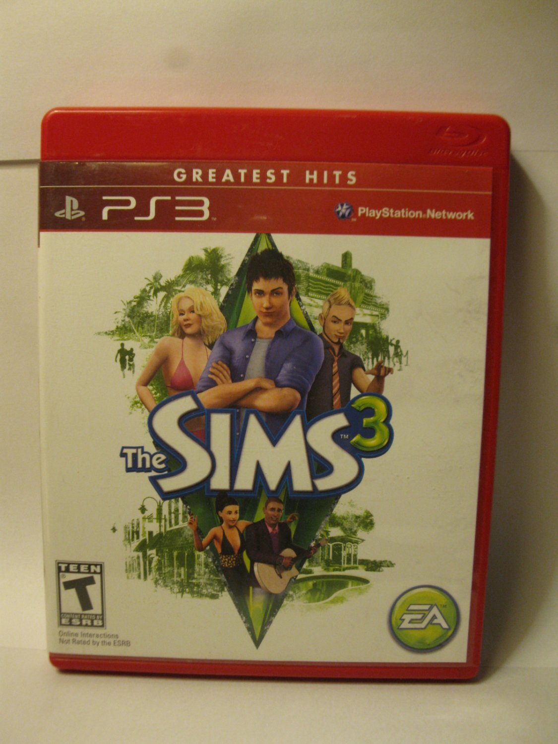 Playstation 3 / PS3 Video Game: The Sims 3 - Greatest Hits