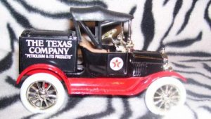 Texaco ERTL 1918 Ford Model T Runabout Bank #5 Number 5