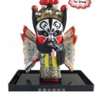 Tianjin Clay Figure Zhang handicrafts Peking Opera Fei Zhang