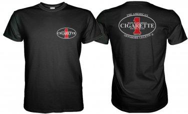 CIGARETTE RACING TEAM BLACK TSHIRT WORLD CHAMPION Sz. S-3XL
