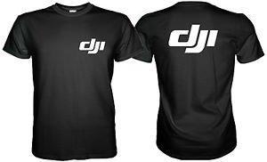 Dji DRONE LOGO T-Shirt 2 SIDE Size S, M, L, XL, 2XL, 3XL