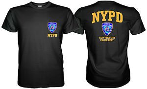 NEW YORK POLICE DEPARTMENT NYPD TSHIRT Sz. S, M, L, XL, 2XL, 3XL