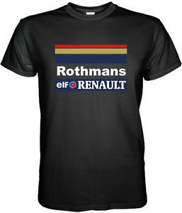 WILLIAMS RENAULT F1 ROTHMANS RACING SENNA HILL TShirt Sz. S - 3XL