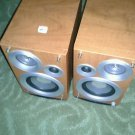 Set of  Wooden Panasonic Speakers (Vintage???) 35W, Simulated Wood Model SB-PM39
