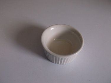Hall 834 1/2 USA Vintage Ceramic Souffle Cup