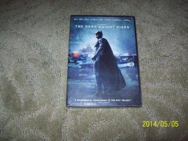 The Dark Knight Rises (2012) Batman DVD New