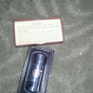 Vintage 70s Evan Curtis Radio & Television Service Rocket Lighter