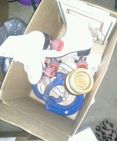 Box of Horseshoes skates plaque