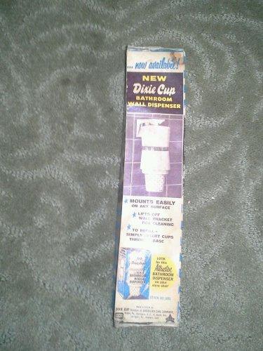 Vintage Bathroom DIXIE Cups