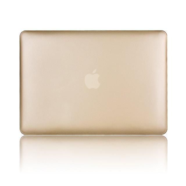 "Ultra Slim Gold Rubberized Hard Case for Apple MacBook Air 11.6"" & Free Keyboard Cover(Random)-281B"