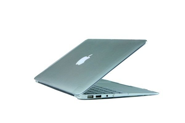 "Ultra Slim Crystal Clear Hard Case for MacBook Air 11.6"" (Transparent) & Keyboard Cover(Random)-282E"