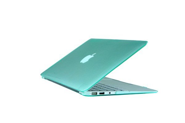 "Ultra Slim Crystal Clear Hard Case for MacBook Air 11.6"" (Green) & Free Keyboard Cover(Random)-282K"