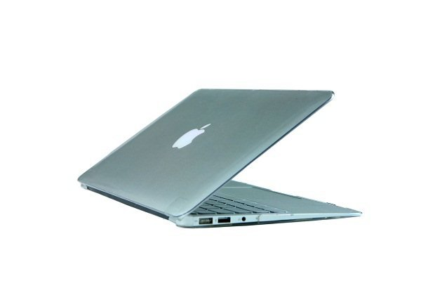 """Ultra Slim Crystal Clear Hard Case for MacBook Air 13.3"""" (Transparent) & Free Keyboard Cover-286E"""